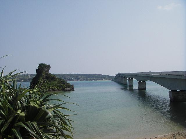 古宇利島へいく橋